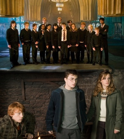 Dumbledore's Army - the Trio